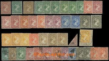 218723 - 1878-1902 VIKTORIE / specializovaná sestava 29 neupotřeben