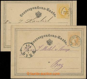 218728 - 1870-1871 Ferch.1, žluťásek 2Kr, I. vydání 1869, sestav