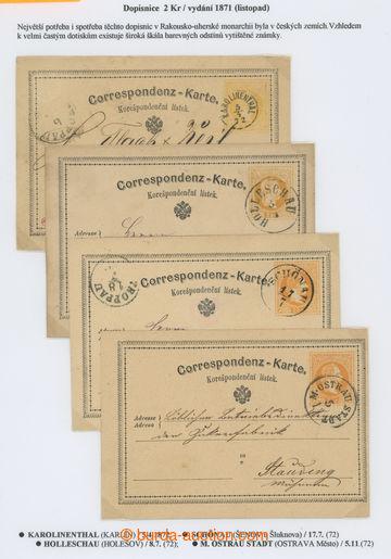 218741 - 1872 Ferch.4B, yellow 2 Kreuzer, III. issue 1872, German. -