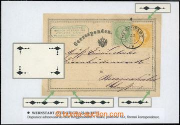 218757 - 1871 Ferch.3A, yellow 2 Kreuzer, issue II 1871, German text,