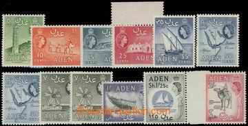 218769 - 1964-1965 SG.77-86, Alžběta II. - Motivy 5C - 2Sh, komplet
