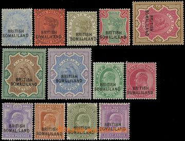 218857 - 1903 SG.18-30, přetiskové Viktorie a Edvard VII. ½A-5R a