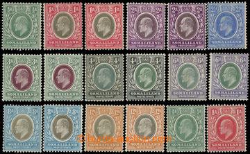 218859 - 45-59 SG.45-59, 46a-53a, Edvard VII. ½-12A + ½A-1A, navíc