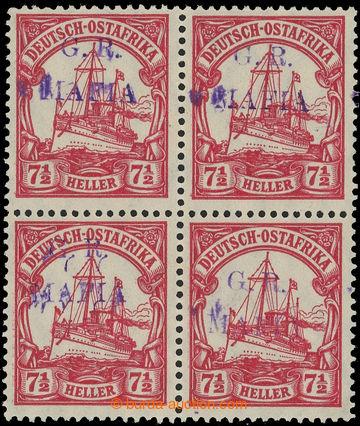 219108 - 1915 MAFIA ISLAND - britská okupace SG.M3C, Císařská jac