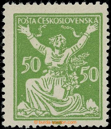 219235 -  Pof.156A RT, 50h zelená, retuš vajíčka, typ A; svěží