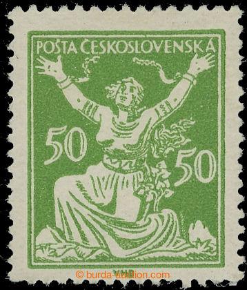 219236 -  Pof.156A RT, 50h zelená, retuš vajíčka, typ C; svěží