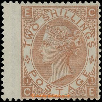 219267 - 1880 VELKÁ BRITÁNIE / SG.121, 2Sh hnědá; poštovně nepo