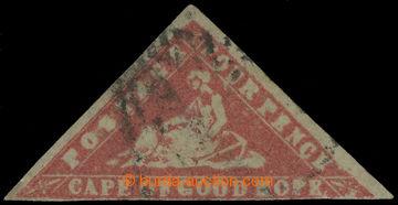 219273 - 1861 MYS DOBRÉ NADĚJE / SG.14ea, WOODBLOCK FOUR PENCE CARM