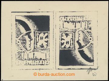 219344 -  ZT  kamenotisk předlohy návrhu známky PŘILBA 5K od auto