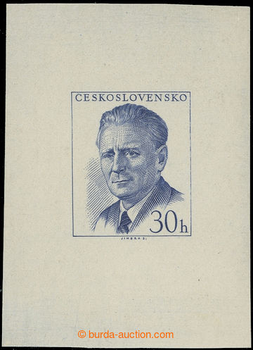 219455 - 1958 ZT  Pof.999, Novotný 30h, zkusmý tisk - otisk původn