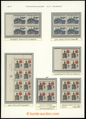 219534 - 1971 Pof.1876, 1877 - Lidová architektura, Šariš 1,60Kčs