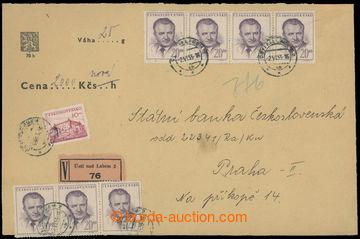 219595 - 1953 CENNÉ PSANÍ / s udanou cenou 2.000Kč v nové měně