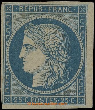 219636 - 1849 Mi.4, Maury 4b, Ceres 25C pale blue (cheapest color); v