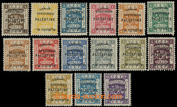 219971 - 1922 SG.71s-84s, kompletní série EEF s 3-jazyčným přeti