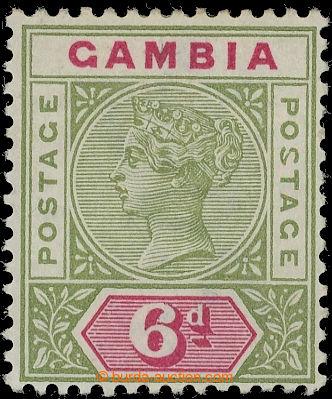 220000 - 1898 SG.43a, Viktorie 6P s významným chybotiskem MALFORMED