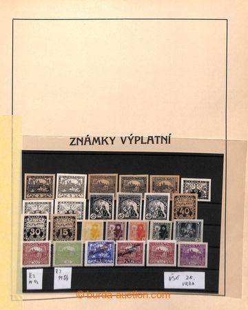 220108 - 1918-1923 [SBÍRKY]  GENERÁLNÍ / stará sbírka ve Stachov