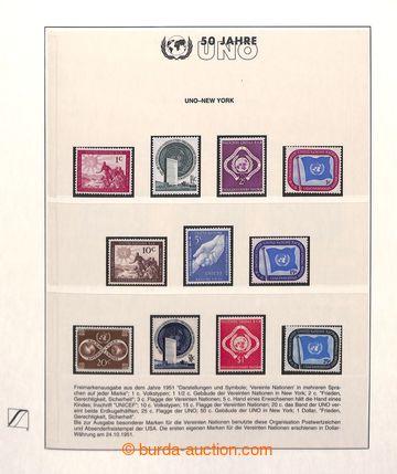 220113 - 1970-1990 [SBÍRKY]  50 let OSN - námětová sbírka ve 3 z