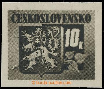220285 -  Pof.371 II., Bratislavské vydání 10K černá, II. typ -