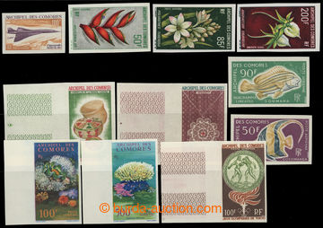 220303 - 1962-1968 sestava 11ks NEZOUBKOVANÝCH známek: Mi.48, 50, 5
