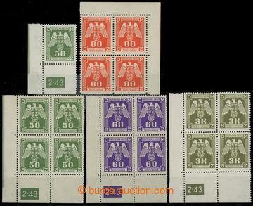 220388 - 1943 Pof.SL15, SL16, SL17, SL22, Pof.SL12, SL9, SL5, SL2, Sl