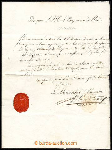 220477 -  KAREL XIV. (Jean-Baptiste Bernadotte), francouzský ministr