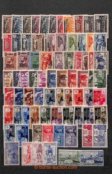 220592 - 1880-1950 [SBÍRKY]  FRANCOUZSKÉ KOLONIE /  sbírka na 16 s