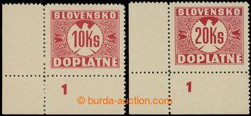 220908 - 1939 Sy.D11Xy, D12Xy DČ, I. vydání 10Ks a 20Ks, rohové k