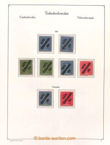 220963 - 1919-1939 [SBÍRKY]  GENERÁLNÍ / zbytková nekompletní z�