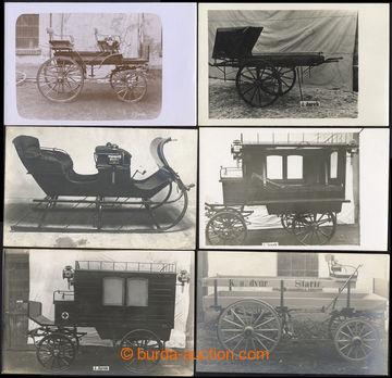 221055 - 1910 [SBÍRKY]  KOČÁRY / fy J. JUREK Nový Jičín / mimo�