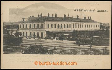 221122 - 1903 HAVLÍČKŮV BROD (Německý Brod) - railway-station, s