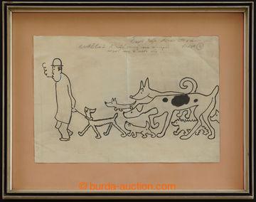 221205 - 1930 ČAPEK Josef (1887–1945), kresba tuší na papíru 44