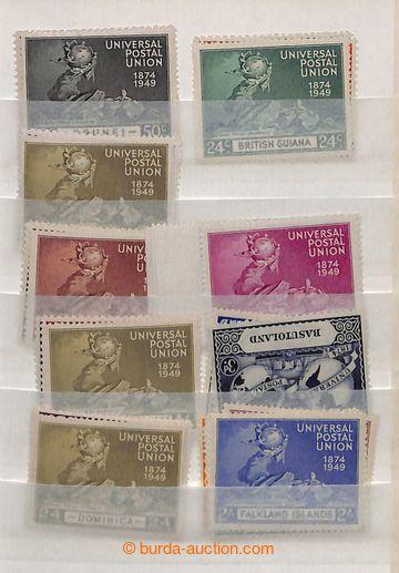 221246 - 1949 [SBÍRKY]  OMNIBUS / UPU - komplet + některé státy v