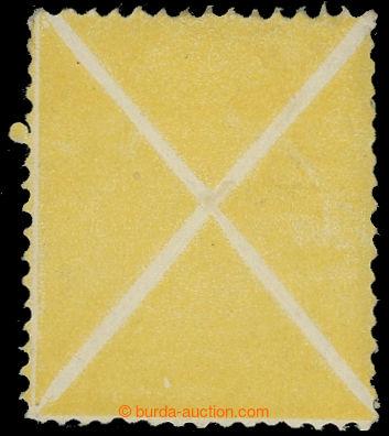 221297 - 1858 ONDŘEJSKÝ KŘÍŽ / žlutý velký pro ANK.10I, z arc