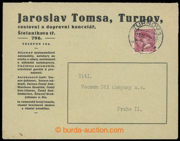 221375 - 1939 1. DEN  protektorátu ČaM, firemní dopis vyfr. zn. TG
