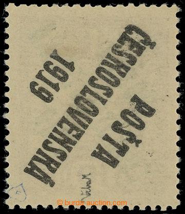 221511 -  Pof.36 PII, Koruna 10h fialová s oboustranným přetiskem,