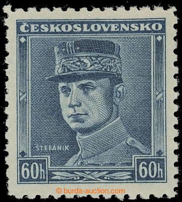 221528 - 1939 Sy.1, Modrý Štefánik 60h; svěží, zk. Vrba