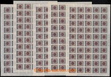 221616 - 1912 INDENPENDANCE ALBANAISE 1912 sestava 5ks kompletních n