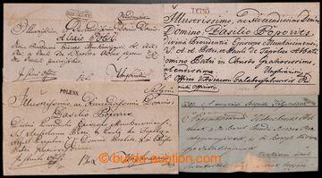 221713 - 1820-1845 POLENA, SZEREDNYE, TETSÖ, UNGHVAR  sestava 4 skl�