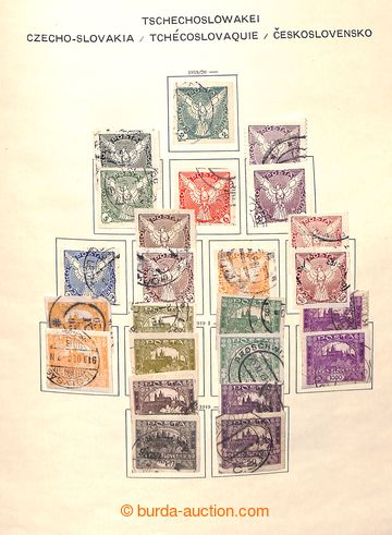 221719 - 1918-1981 [SBÍRKY]   generální značně kompletní sbírk