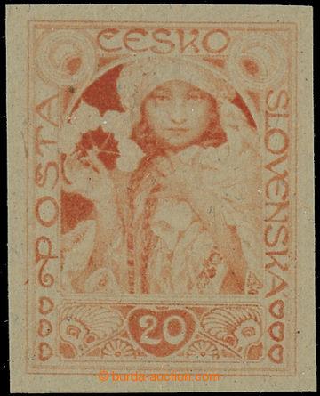 221735 -  ZT  MUCHA Alfons (1860-1939), zkusmý tisk nepřijatého n�