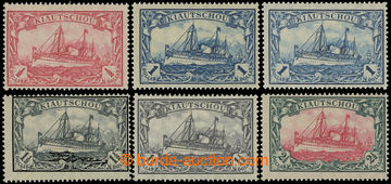 221789 - 1905-1919 Mi.34IIB *, 35IA **, 35IIB * , 36IAb **, 36IIB *,