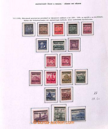 221810 - 1939-1945 [SBÍRKY]  menší generální sbírka na 45 zaskl