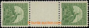 221811 - 1933 Pof.273Ms(2), Nitra 50h zelená, svislé 2-zn. meziarš