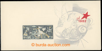 221825 - 1981 VT11a, Picasso, bez přítisku jména; bezvadný, kat.