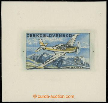 221919 - 1967 ZT Pof.L64, Československá letadla 60h, zkusmý otisk