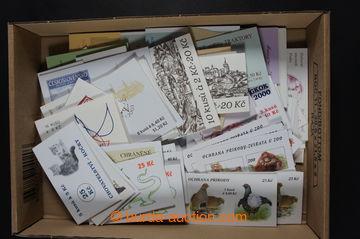 221930 - 1993-2002 [SBÍRKY]  partie více jak 100ks známkových se�