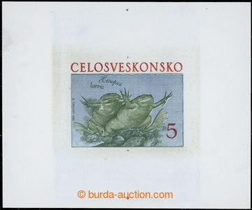 221990 - 1983 ZT  nepřijatého návrhu na známku Žáby Henopus Lae