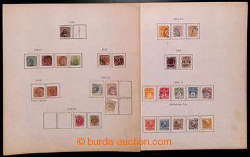 222079 - 1851-1966 [SBÍRKY]  rozpracovaná raz. sbírka na listech,
