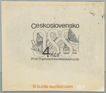 222118 - 1987 ZT  Pof.2810, Organizace soc. spojů 4Kčs, zkusmý tis