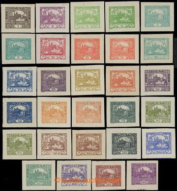 222269 -  Pof.1-26, kompletní řada (bez Pof.6, 9 a 13) s extrémně
